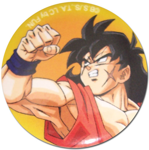 Dragon Ball Z - Yamcha 1.25'' Button officially licensed Dragon Ball Z Buttons product at B.A. Toys.