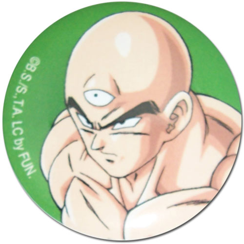 Dragon Ball Z - Tien 1.25'' Button officially licensed Dragon Ball Z Buttons product at B.A. Toys.