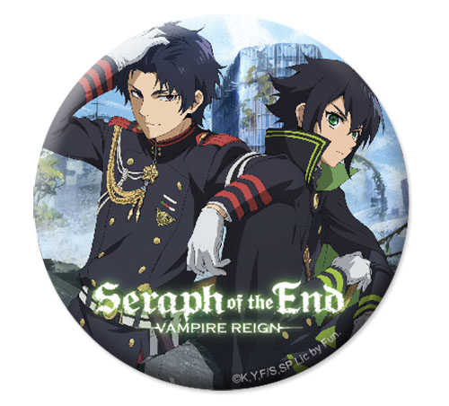 Seraph Of The End - Yuchiro & Guren Button 1.25''