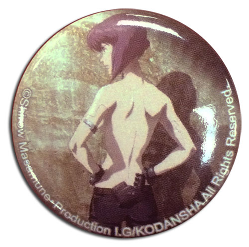 Ghost In The Shell - Motoko Button 1.25'', an officially licensed product in our Ghost In The Shell Buttons department.