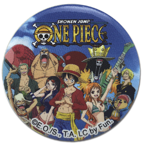 One Piece - Composite F1_16 Button 1.25'' officially licensed One Piece Buttons product at B.A. Toys.