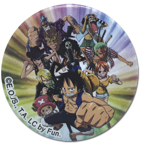One Piece - Composite 11_06 Button 1.25'' officially licensed One Piece Buttons product at B.A. Toys.