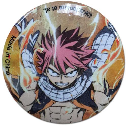 Fairy Tail - Natsu Button