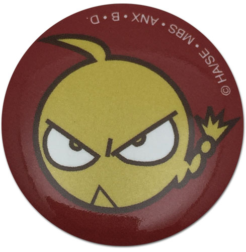 Fullmetal Alchemist - Ed Face Button 1.25'' officially licensed Fullmetal Alchemist Buttons product at B.A. Toys.