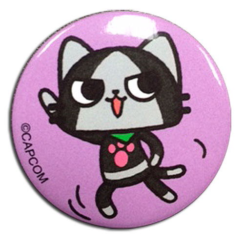 Monster Hunter - Merarou Dance Button 1.25'', an officially licensed product in our Monster Hunter Buttons department.