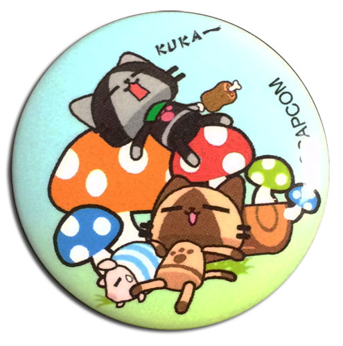 Monster Hunter - Naptime Button 1.25'', an officially licensed Monster Hunter product at B.A. Toys.