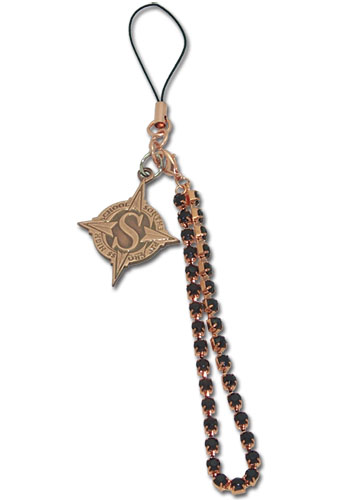 Star Driver School Crest Cellphone Charm, an officially licensed Star Driver Cell Phone Accessory
