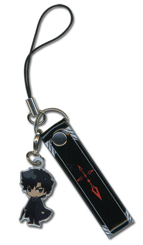 Fate/zero Kiritsugu Cellphone Strap officially licensed Fate/Zero product at B.A. Toys.