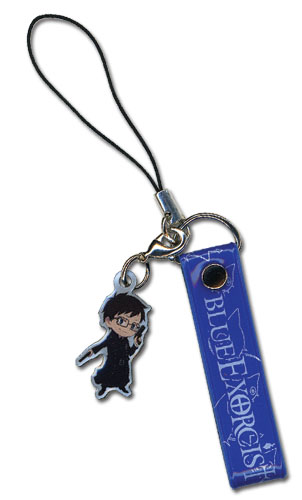 Blue Exorcist Yukio Cellphone Strap, an officially licensed Blue Exorcist product at B.A. Toys.