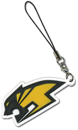 Tiger & Bunny Wild Tiger Logo Cellphone Charm officially licensed product at B.A. Toys.