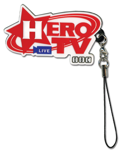 Tiger & Bunny Hero Tv Cellphone Charm officially licensed product at B.A. Toys.
