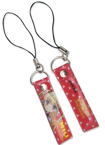 Listen To Me Girls Miu Cellphone Strap, an officially licensed Listen To Me Girls Cell Phone Accessory