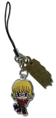 Tiger& Bunny Barnaby Metal Cellphone Charm officially licensed product at B.A. Toys.