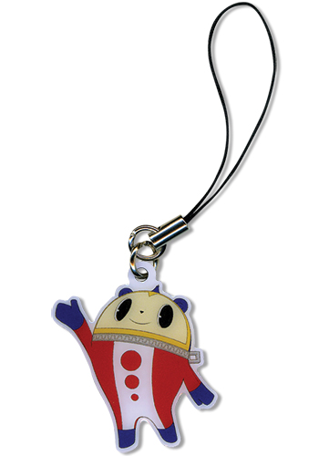 Persona 4 Kuma Metal Cellphone Charm, an officially licensed product in our Persona Costumes & Accessories department.