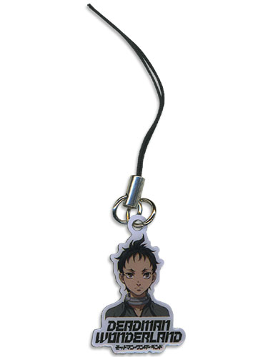 Deadman Wonderland Ganta Metal Cellphone Charm, an officially licensed Deadman Wonderland Cell Phone Accessory