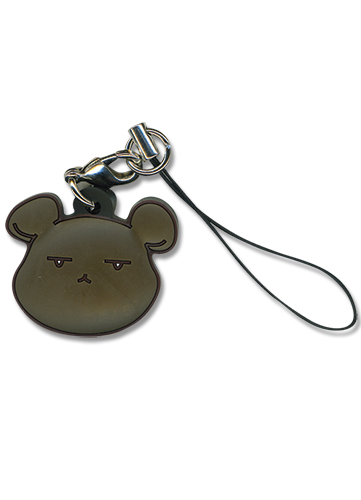 Ouran High School Club Bear Pvc Cellphone Charm, an officially licensed product in our Ouran High School Host Club Costumes & Accessories department.