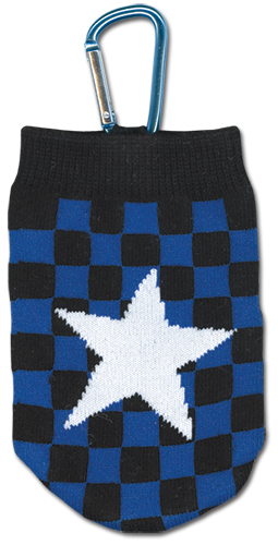 Black Rock Shooter - Star Knitted Cell Phone Bag, an officially licensed Black Rock Shooter product at B.A. Toys.