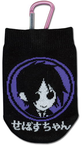 Black Butler Sebastian Knitted Cellphone Bag, an officially licensed product in our Black Butler Costumes & Accessories department.