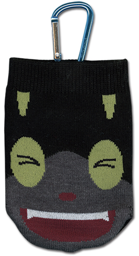 Blue Exorcist Kuro Knitted Cellphone Bag, an officially licensed product in our Blue Exorcist Costumes & Accessories department.
