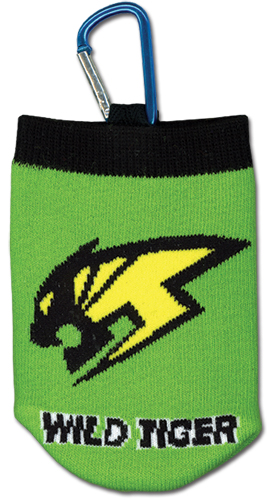 Tiger & Bunny Wild Tiger Knitted Cellphone Bag officially licensed product at B.A. Toys.