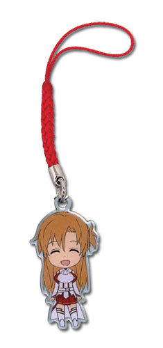 Sword Art Online Sd Asuna Metal Cellphone Charm, an officially licensed product in our Sword Art Online Costumes & Accessories department.