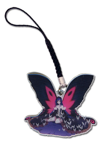 Accel World Kuroyukihime Metal Cellphone Charm officially licensed product at B.A. Toys.