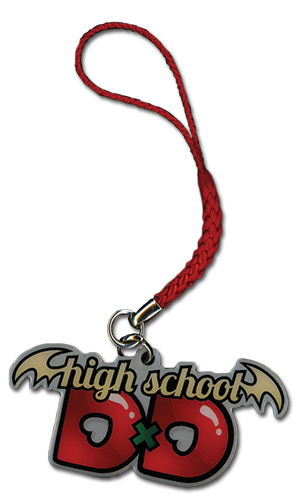High School Dxd Logo Cellphone Charm, an officially licensed product in our High School Dxd Costumes & Accessories department.