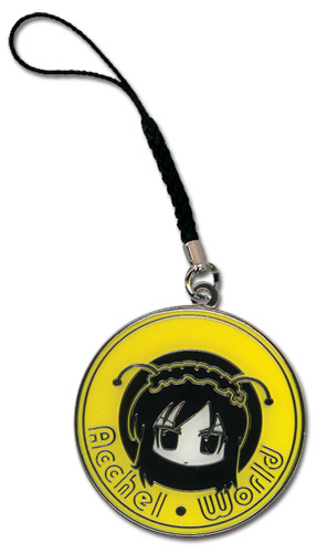 Accel World Kuroyukihime Face Metal Cellphone Charm, an officially licensed product in our Accel World Costumes & Accessories department.