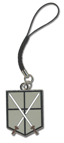 Attack On Titan - 104Th Trainees Squad Emblem Cell Phone Charm, an officially licensed product in our Attack On Titan Costumes & Accessories department.