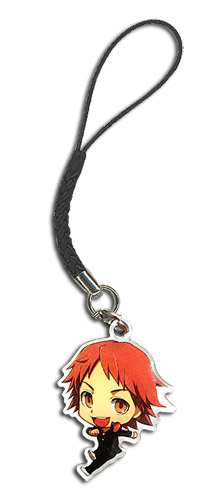 Persona 4 - Sd Yosuke Metal Cell Phone Charm, an officially licensed product in our Persona Costumes & Accessories department.