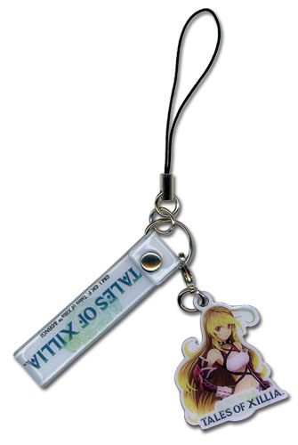 Tales Of Xillia - Milla Cell Phone Charm, an officially licensed product in our Tales Of Xillia Costumes & Accessories department.