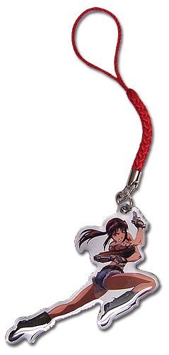 Black Lagoon - Revy Cellphone Charm, an officially licensed product in our Black Lagoon Costumes & Accessories department.