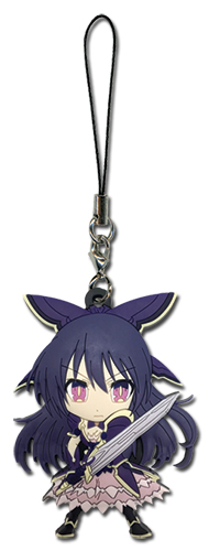 Date A Live - Tohka Pvc Phone Charm, an officially licensed Date A Live product at B.A. Toys.