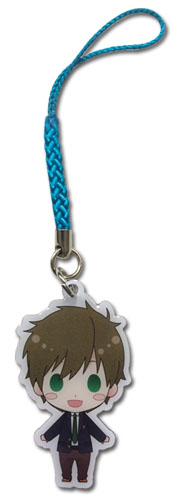 Free! - Makoto Sd Metal Cell Phone Charm, an officially licensed Free! product at B.A. Toys.