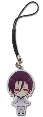 Free! - Rin Sd Metal Cell Phone Charm, an officially licensed product in our Free! Costumes & Accessories department.