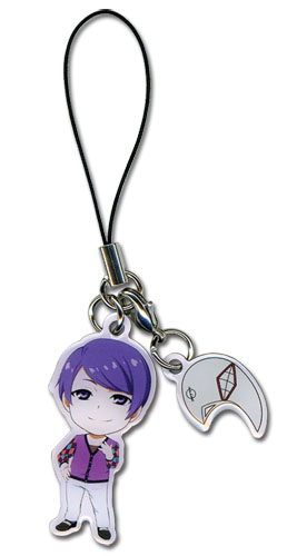 Tokyo Ghoul - Shuu & Mask Cell Phone Charm officially licensed Tokyo Ghoul Costumes & Accessories product at B.A. Toys.