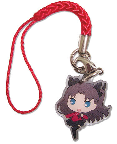 Fate/Stay Night - Metal Cell Phone Charm, an officially licensed product in our Fate/Zero Costumes & Accessories department.
