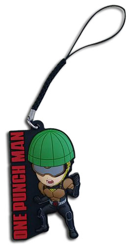 One Punch Man - Sd Mumen Rider Pvc Phone Charm, an officially licensed One-Punch Man product at B.A. Toys.