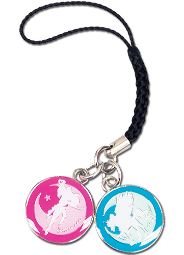 Sailor Moon - Pegasus And Chibimoon Cell Phone Charm, an officially licensed Sailor Moon product at B.A. Toys.