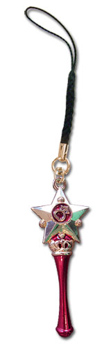 Sailor Moon - Mars Moon Pen Cell Phone Charm, an officially licensed Sailor Moon product at B.A. Toys.