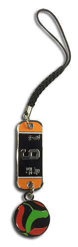 Haikyu!! - Number 9 Team Uniform Cell Phone Charms, an officially licensed Haikyu!! product at B.A. Toys.