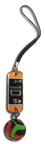 Haikyu!! - Number 10 Team Uniform Cell Phone Charm, an officially licensed Haikyu!! product at B.A. Toys.
