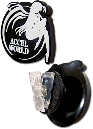Accel World Logo Earbud Clip, an officially licensed Accel World Accessory