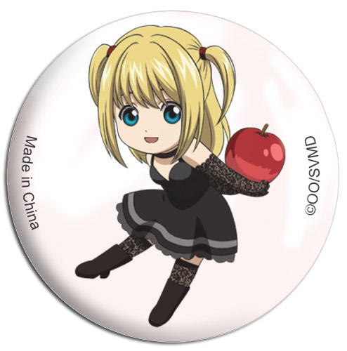 Death Note - Sd Misa Button 1.25, an officially licensed Death Note product at B.A. Toys.