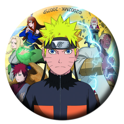 Naruto Shippuden - Group Button 1.25, an officially licensed Naruto Shippuden product at B.A. Toys.