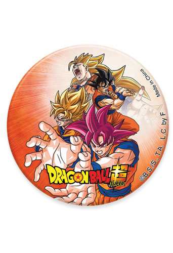 Dragon Ball Super - Group 18 Button 1.25'' officially licensed Dragon Ball Super Buttons product at B.A. Toys.