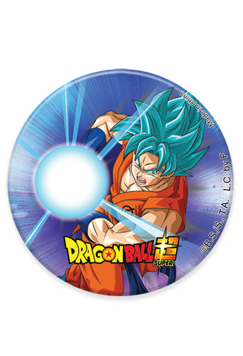 Dragon Ball Super - Ssgss Goku 05 Button 1.25