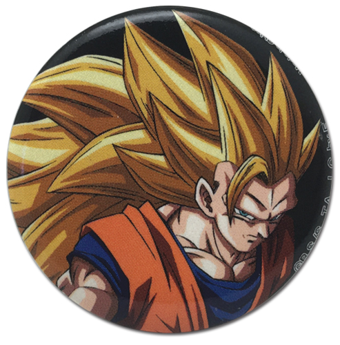 Dragon Ball Super - Ss3 Goku Button 1.25'', an officially licensed product in our Dragon Ball Super Buttons department.