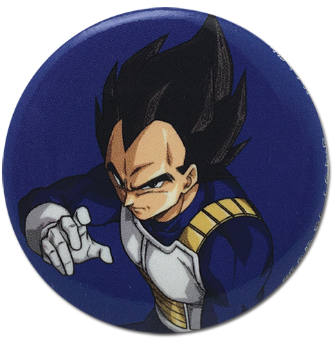 Dragon Ball Super - Vegeta Pose Button 1.25