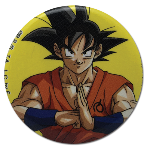 Dragon Ball Super - Goku With Whis Uniform Button, an officially licensed product in our Dragon Ball Super Buttons department.